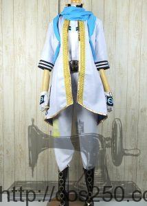 KAITO オリジネイター 風コスプレ衣装オーダメイド製作サンプル