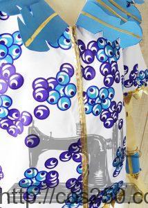 ミニーのトロピカルスプラッシュ 2016 ドナルドダック 風 コスプレ衣裳オーダー製作サンプル