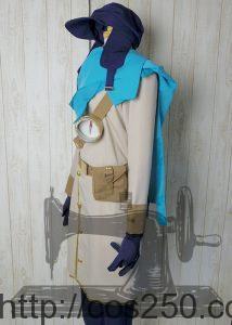 pop'n music(ポップンミュージック) グレン  風コスプレ衣装オーダメイド製作サンプル