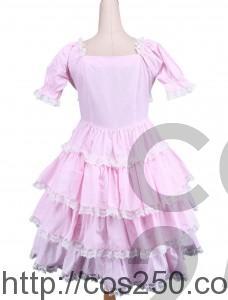 ロリータ ピンクドレス