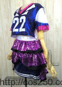 AKB48 東京ドーム公演衣装 小嶋陽菜 風のコスプレオーダーメイドサンプル