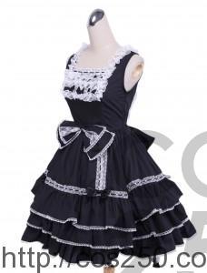 ゴスロリ ロングドレス