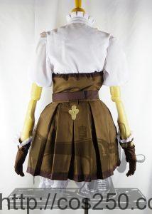 大逆転裁判 アイリス・ワトソン 風コスプレ衣装オーダメイド製作サンプルです。