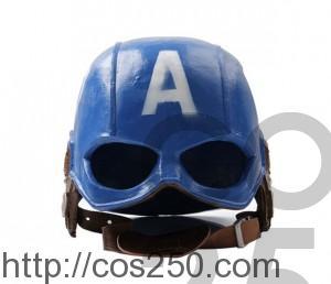 キャプテン・アメリカ マスク コスプレオーダーメイド製作