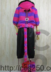 不思議の国のアリス チェシャ猫 風 コスプレ衣裳オーダー製作サンプル