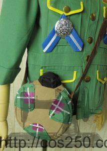 ウッドチャックグリーティング ドナルドダック 風 コスプレ衣裳オーダー製作サンプルです。