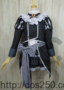 フラワーナイトガール  トリカブト 風 コスプレ衣裳オーダー製作サンプル