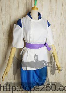 千と千尋の神隠し  ハク 風 コスプレオーダメイド衣装制作サンプル