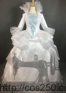 実写版シンデレラ フェアリーゴットマザー 風 コスプレ衣裳オーダー製作サンプル