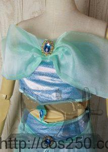 アラジン ジャスミン 風 コスプレ衣裳オーダー製作サンプルです。
