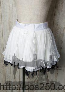 スカート プロジェクトDIVA ピエレッタ 初音ミク 風コスプレオーダメイド衣装制作
