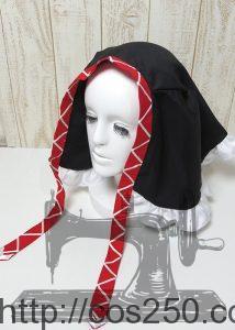 頭巾 プロジェクトDIVA ピエレッタ 初音ミク 風コスプレオーダメイド衣装制作