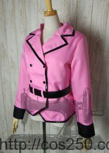 ジャケット 魔法少女リリカルなのはStrikerS キャロ・ル・ルシエ 風 コスプレ衣裳オーダー製作サンプル