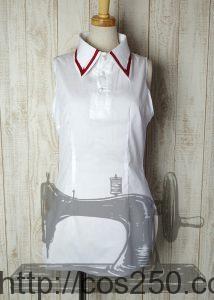 ノースリーブシャツ あいりすミスティリア! ラディス 風 コスプレ衣裳オーダー製作サンプル