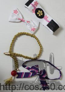 リボン、装飾など アズールレーン 鳳翔 風 コスプレ衣裳オーダー製作サンプル