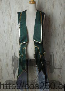 ロングベスト DAME×PRINCE ヴィーノ・フォン・ロンザード 風 コスプレ衣裳オーダー製作サンプル