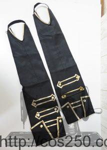 ブーツカバー DAME×PRINCE ヴィーノ・フォン・ロンザード 風 コスプレ衣裳オーダー製作サンプル