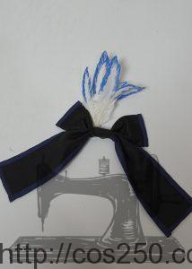 リボンと羽飾り DAME×PRINCE ヴィーノ・フォン・ロンザード 風 コスプレ衣裳オーダー製作サンプル