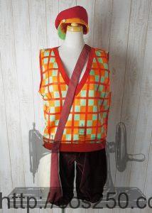 ディズニー チップとデール  風 コスプレオーダメイド衣装制作サンプル