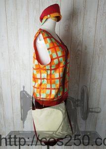 横デザイン ディズニー チップとデール  風 コスプレオーダメイド衣装制作サンプル