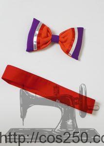 リボンとベルト ディズニーシー ウェルカムスケルトンフレンズ 風 コスプレ衣裳ブーツ オーダー製作サンプル