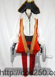 ディズニーヴィランズリクルーター ホック 風 コスプレ衣装オーダー製作サンプル