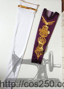 ファイナルファンタジー ブレイブエクスヴィアス 桜雪の賢者サクラ 風コスプレオーダーメイド制作サンプルです。