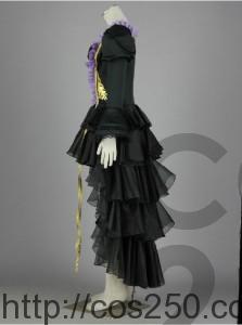 初音ミク ゴシックドレス 風コスプレ衣装オーダメイド製作